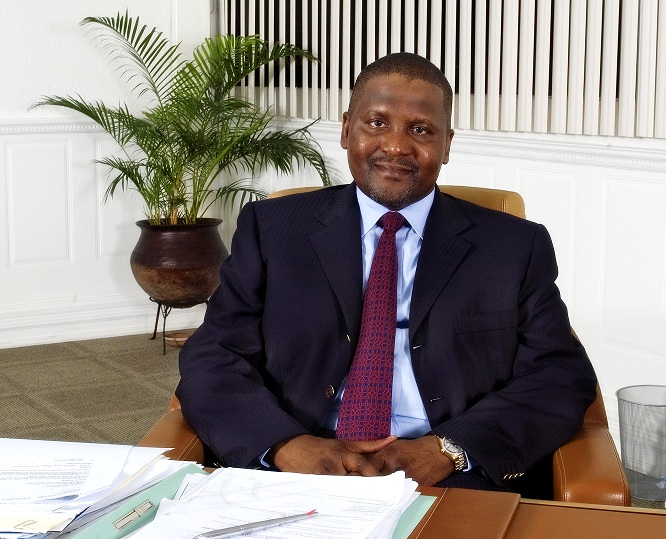 Aliko Dangote: Nigeria will become largest exporter of urea Exporter By 2017