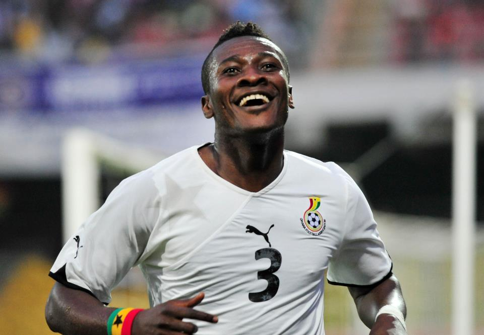 Asamoah Gyan picks dream World XI