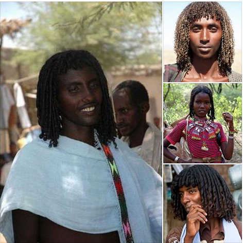 Asdago Natural Afro Hairstyle: The Ethiopian tribes who use BUTTER to style their hair