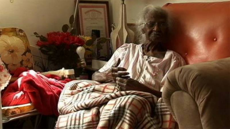 Jeralean Talley turned 115 today