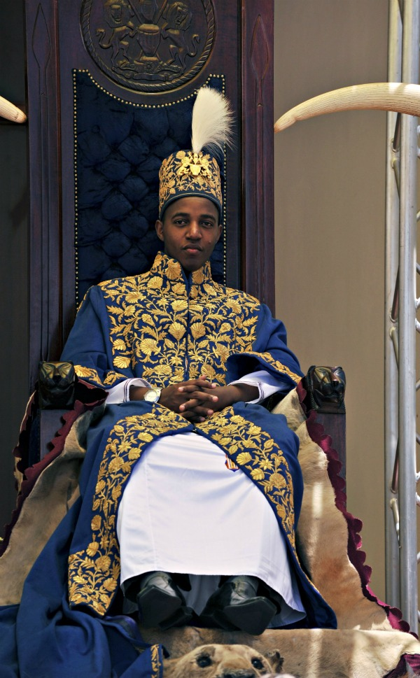 King Oyo of Toro.