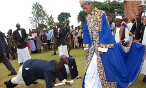 King Oyo of Toro.