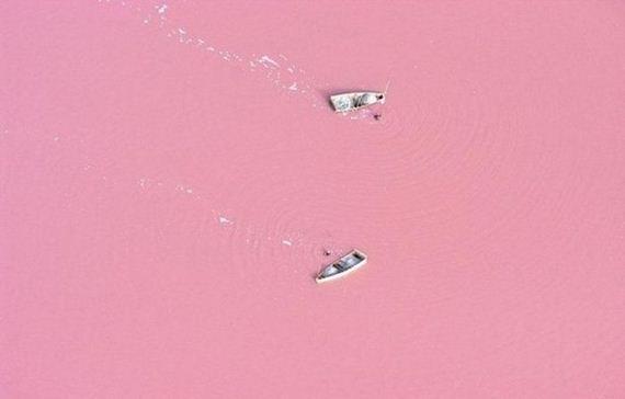 Pink Lake..
