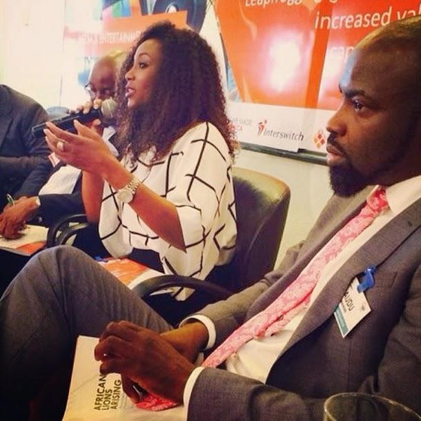 Sam Onyemelukwe, Genevieve Nnaji, Sam, and Audu Maikori