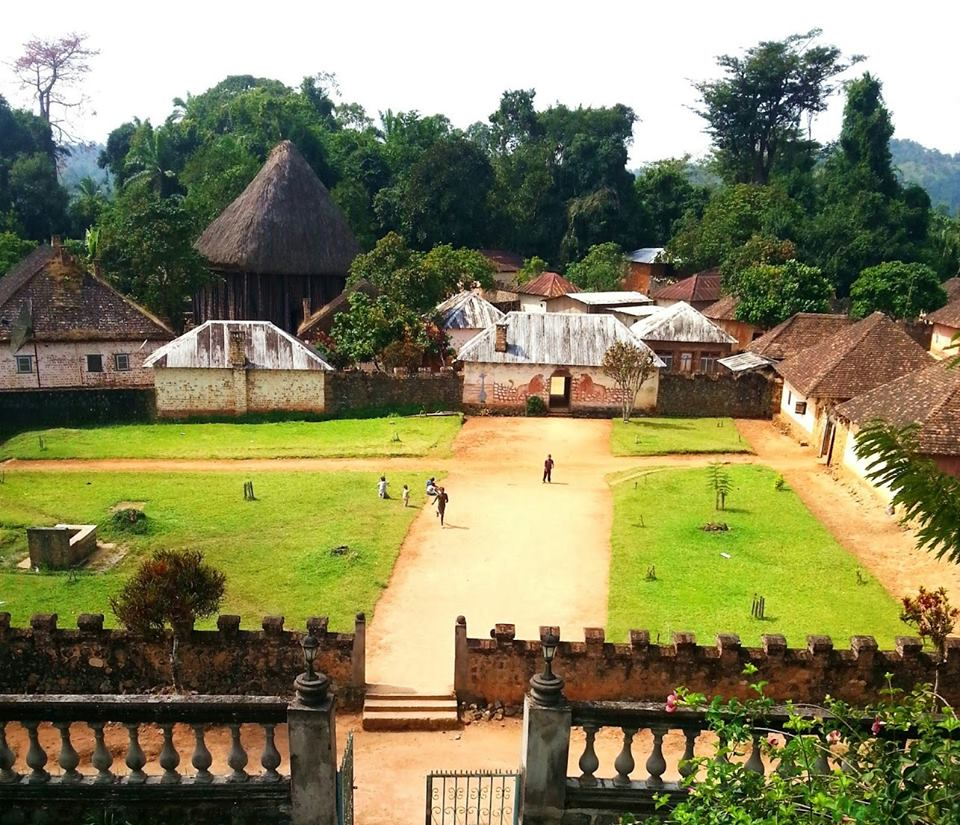The beautiful Bafut village, Cameroon.