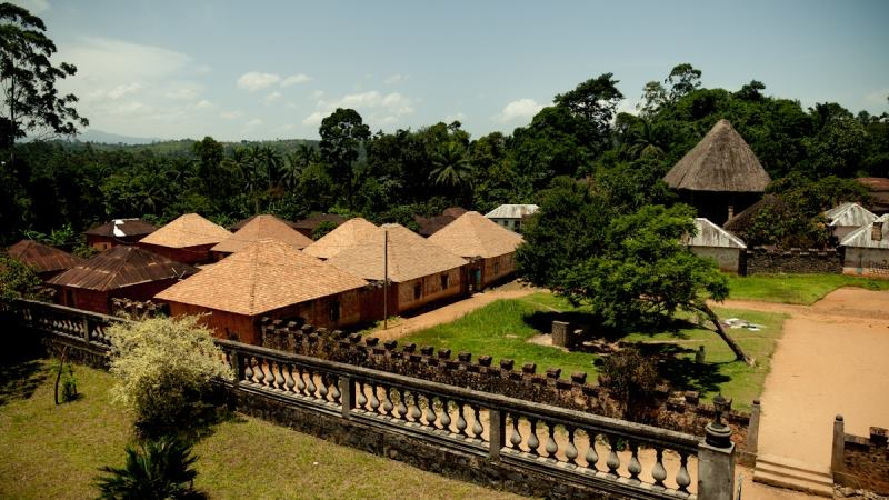 The beautiful Bafut village, Cameroon