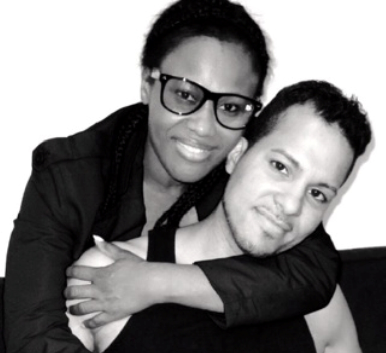 Congratulations: Actor/Director Uche Jombo and her husband on their 2nd wedding anniversary