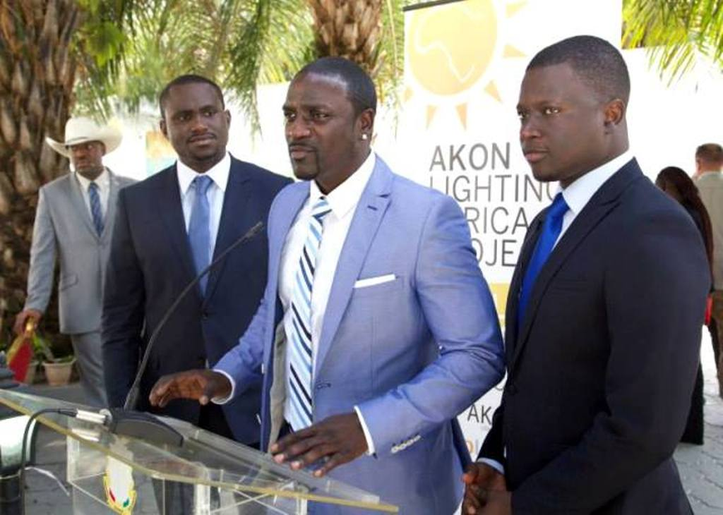 Akon Lighting Africa…