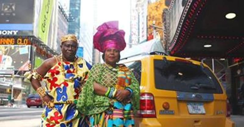 Real Life Coming To America: Ghanaian Chief That Drives A Taxi In America