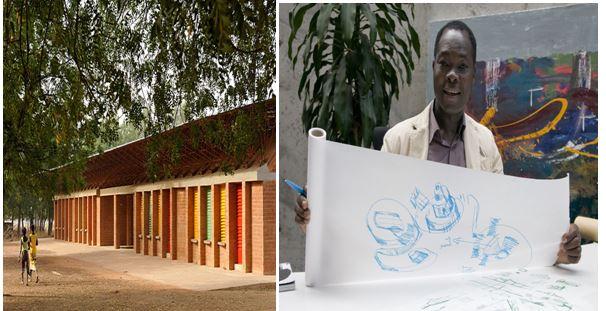 Diébédo Francis Kéré: How to build with clay in a modern way