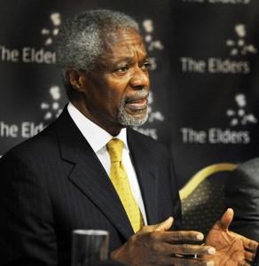 Former Secretary-General of UN Kofi Annan