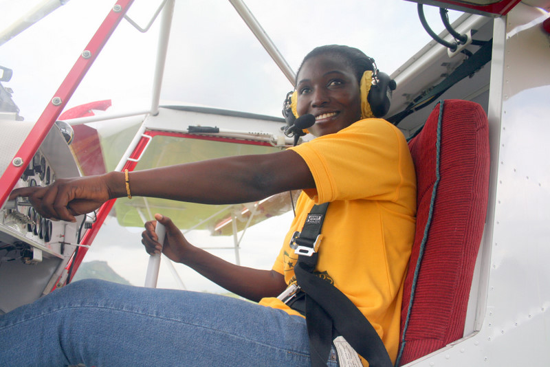 Patricia Mawuli: The first black African and only woman in the world to obtain Rotax Aircraft Engines certification