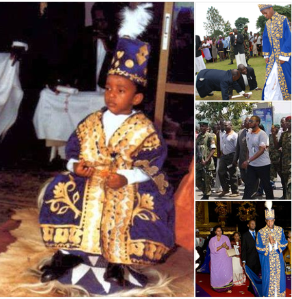 Youngest African king: Oyo Nyimba Kabamba Iguru Rukidi of Uganda