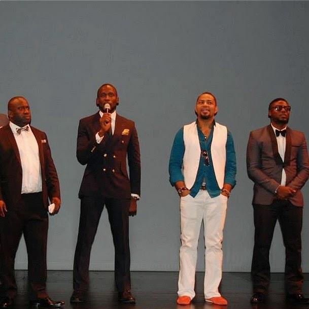 Afe Olumowe, Joseph Benjamin, Ramsey Nouah, and Daniel Lloyed