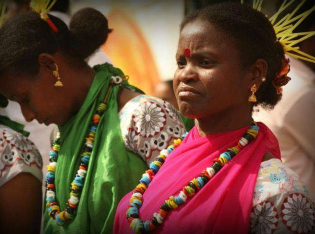 African tribe lost in India..
