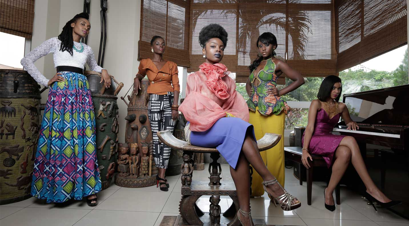 An African City: Nicole Amarteifio, Millie Monyo, and actress Esosa E