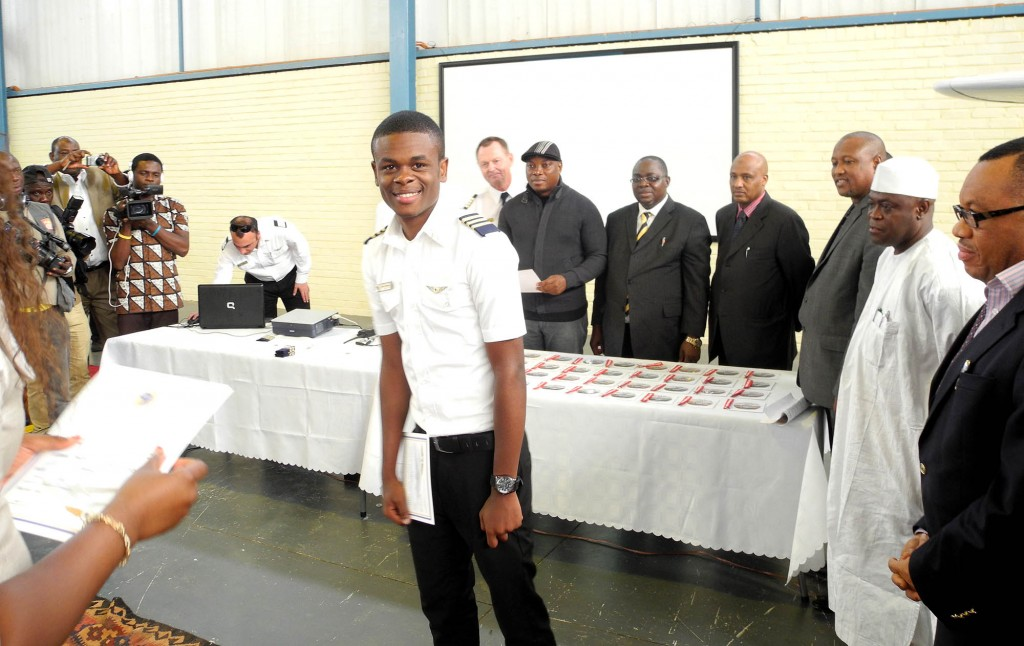 Favour Odozor, Graduates as Youngest Commercial Licence Pilot