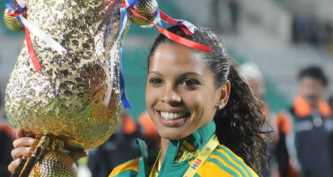 Marsha Marescia: South African Hockey Player  and Captain of the South African Women's Hockey Team