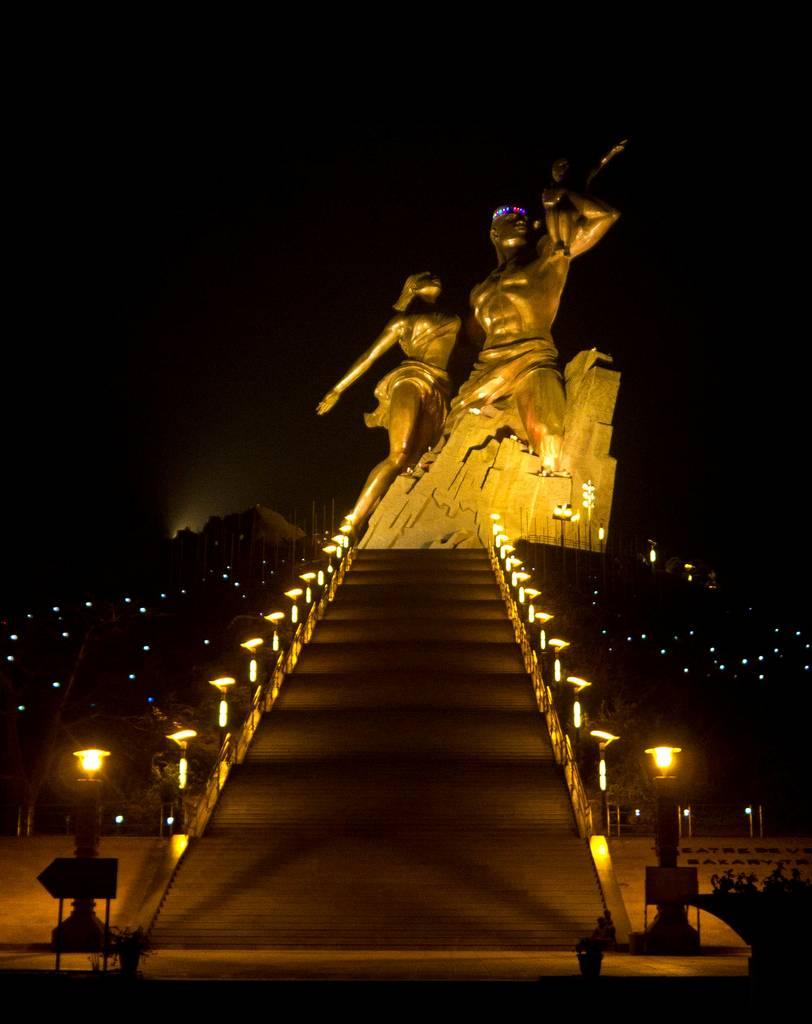 Monument to African Renaissance dakar senegal africa 14