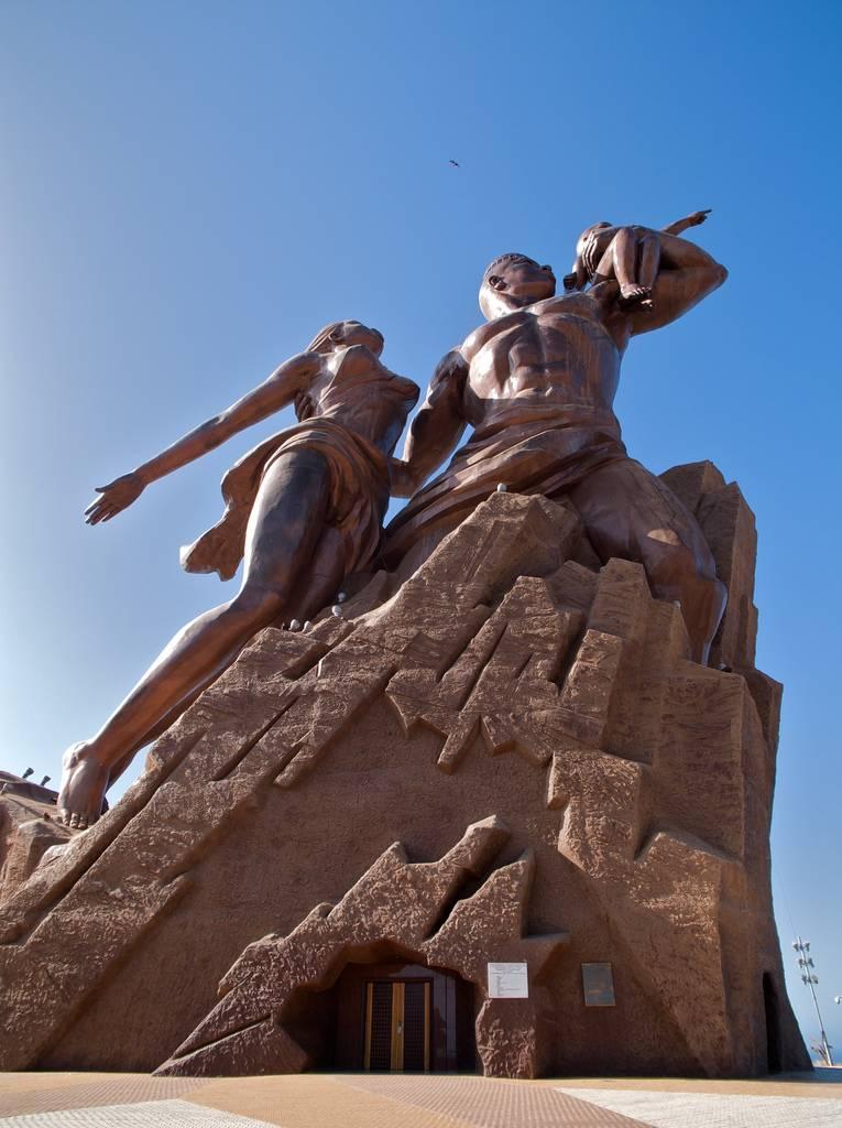 Monument to African Renaissance dakar senegal africa 5