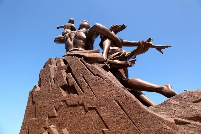 Monument to African Renaissance dakar senegal africa 6
