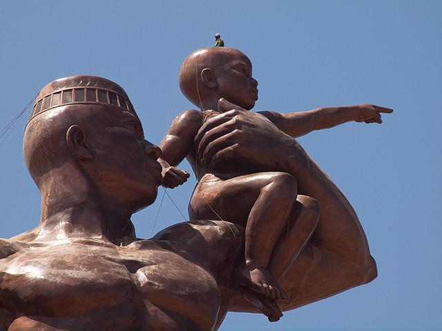 Monument to African Renaissance dakar senegal africa 7