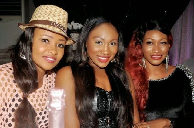 Spotted: Nollywood stars Doris Simeon, Ebube Nwagbo