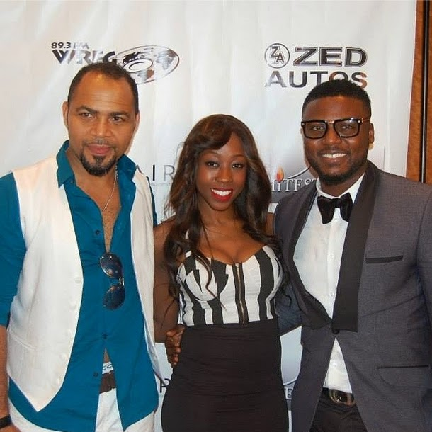 Premiered of Stripped in Atlanta: Stars of the movie Beverly Naya, Ramsey Nouah, Joseph Benjamin and Daniel Lloyd