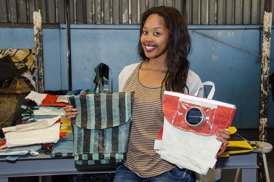 Thato Kgatlhanye: Solar powered schoolbags