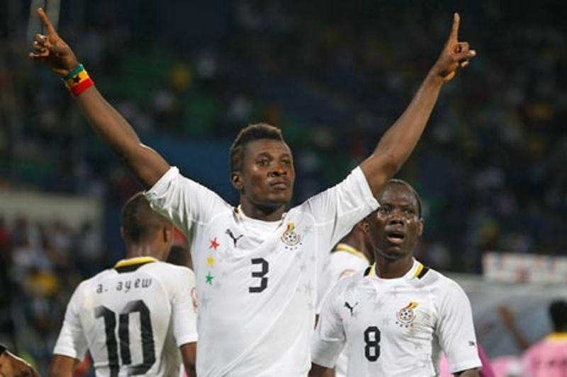 Gyan Ranked 4th Best Striker Worldwide