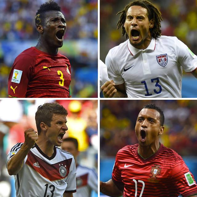 Ghana, USA ,Germany and Portugal – Which country will go the furthest?