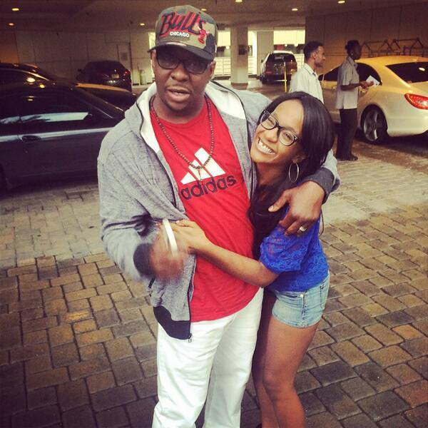 Bobby Brown and Bobbi Kristina Brown reunite on Father's Day