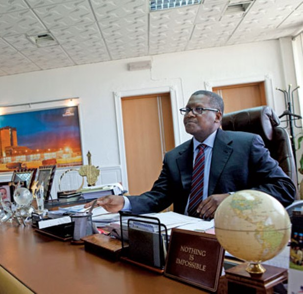 Forbes Africa rates Alhaji Aliko Dangote as 68th most powerful person in the world