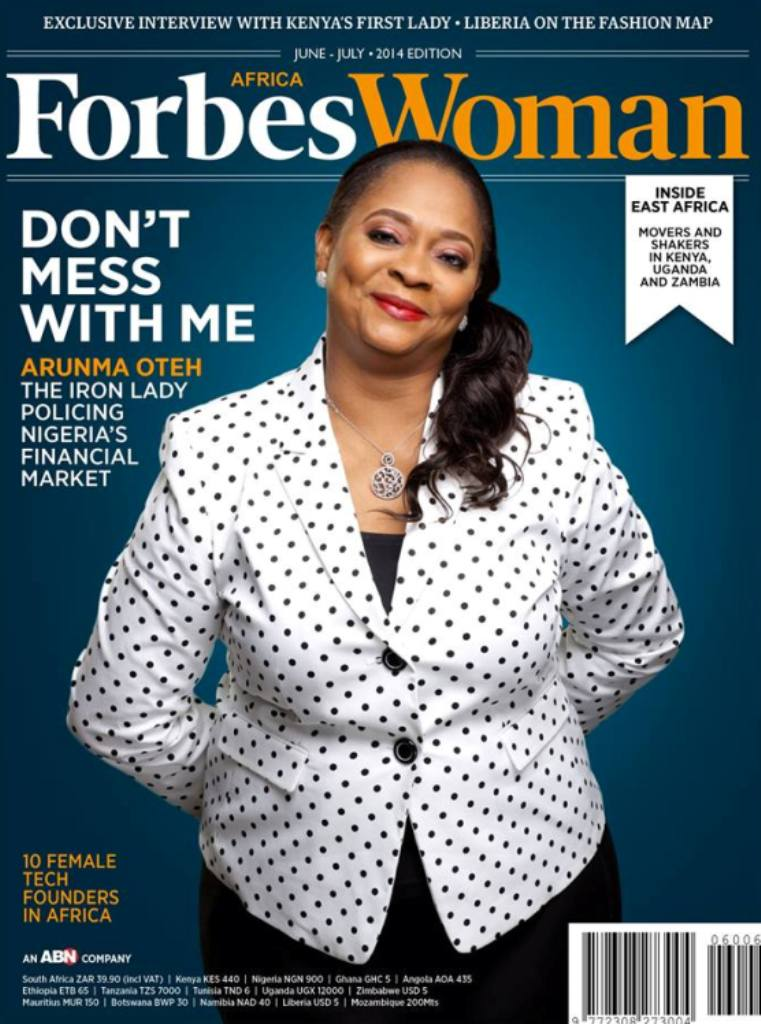 June/July issue FORBES WOMAN AFRICA