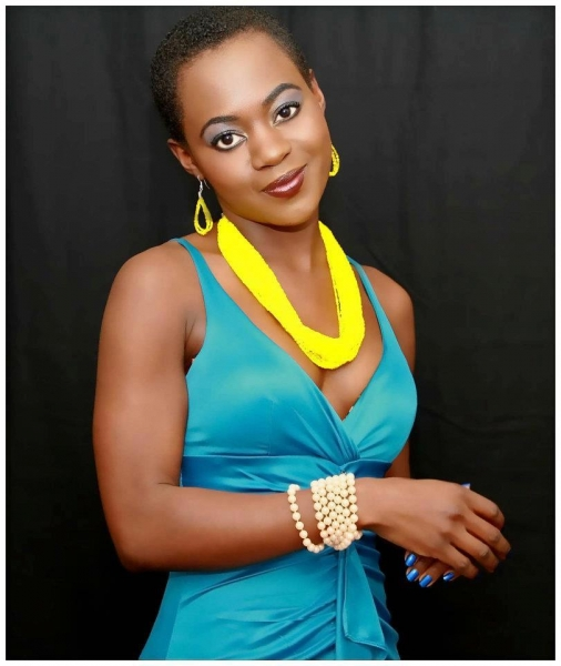 Uganda Native, Hasifa Meriam Kivumbi former Miss Face of Africa