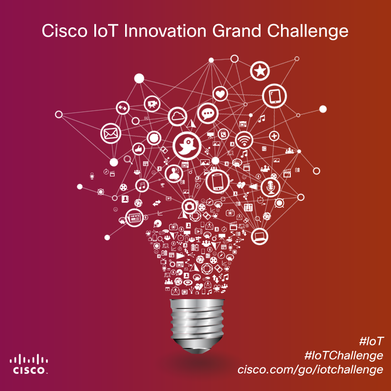 Cisco Internet of Things Innovation Challenge (Prize US$250,000 )
