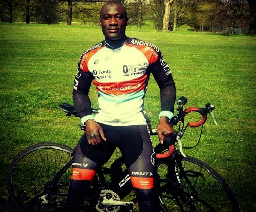 FIRST Ghanaian cyclist to compete at the Commonwealth Games