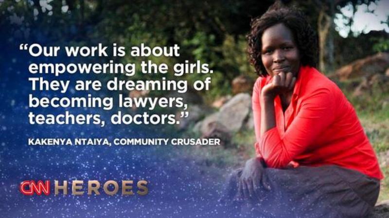 Saving Girls: CNN Hero Kakenya Ntaiya