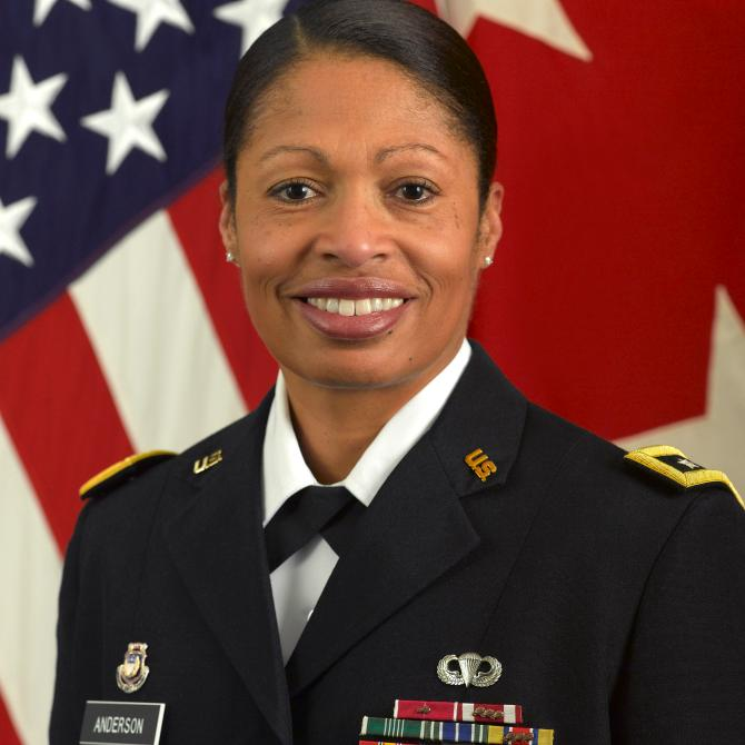 The Army's 1st Black, Female 2-Star General on Diversifying the Army