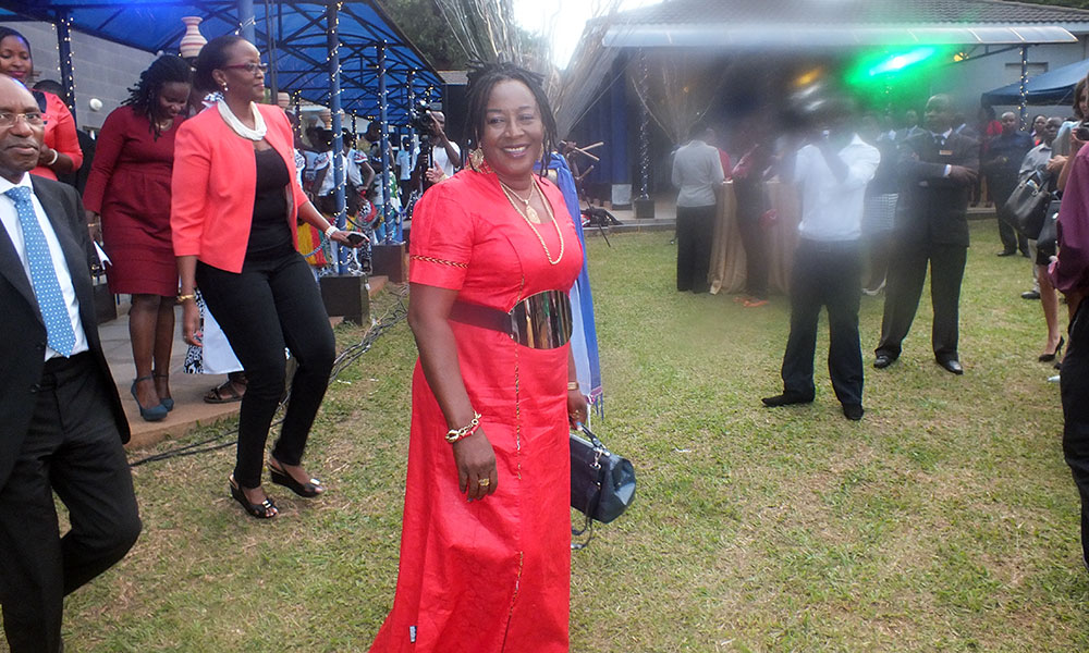 Patience Ozokwor was at the launch of the Uganda Film Festival