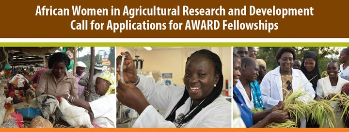 2015 African Women in Agricultural Research and Development Fellowships