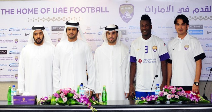 Ghana striker Asamoah Gyan extends Al Ain deal