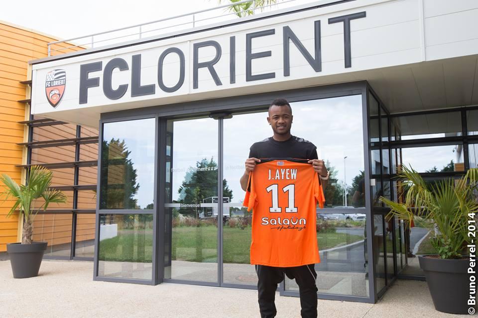 Jordan Ayew signs permanent deal for Lorient