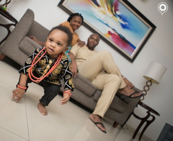 Jason Njoku and actress wife Mary Remmy: Happy birthday to their son Obi