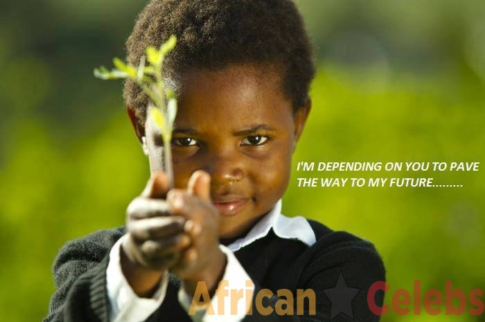 Our children are depending on us to pave the way for them