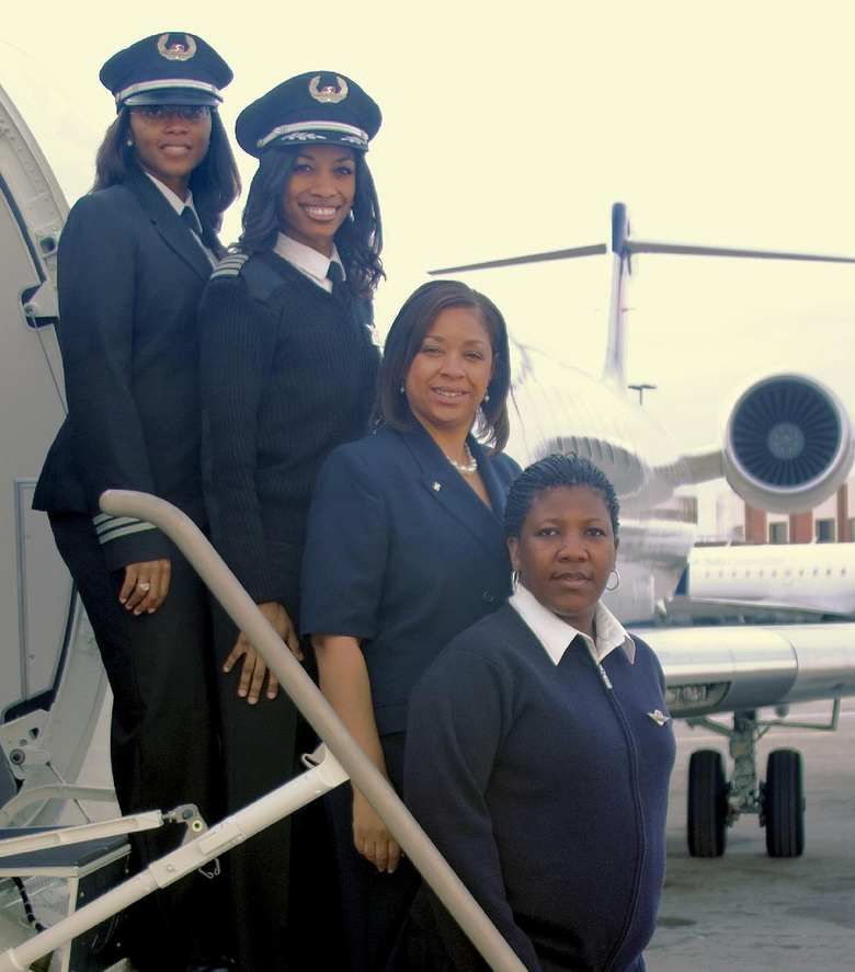 Flying Into History: First all African Female Crew of a Commercial Airliner