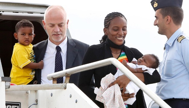 Meriam Ibrahim Arrives in Italy- Finally Free