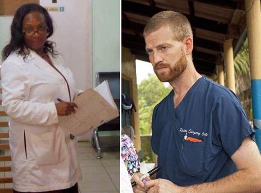 Dr stella Ameyo Adadevoh & Dr kent brantly