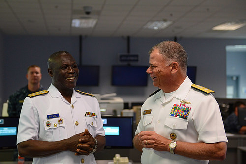 Image result for Rear Admiral Geoffrey Mawuli Biekro