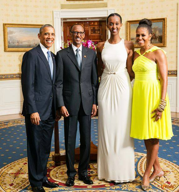 African Leaders at White House Dinner